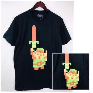 Zelda T-shirt Mens Sz M Black